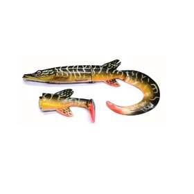 "SAVAGE GEAR SAVAGE GEAR 10"" HYBRID HD PIKE SOFT TAIL- PIKE"