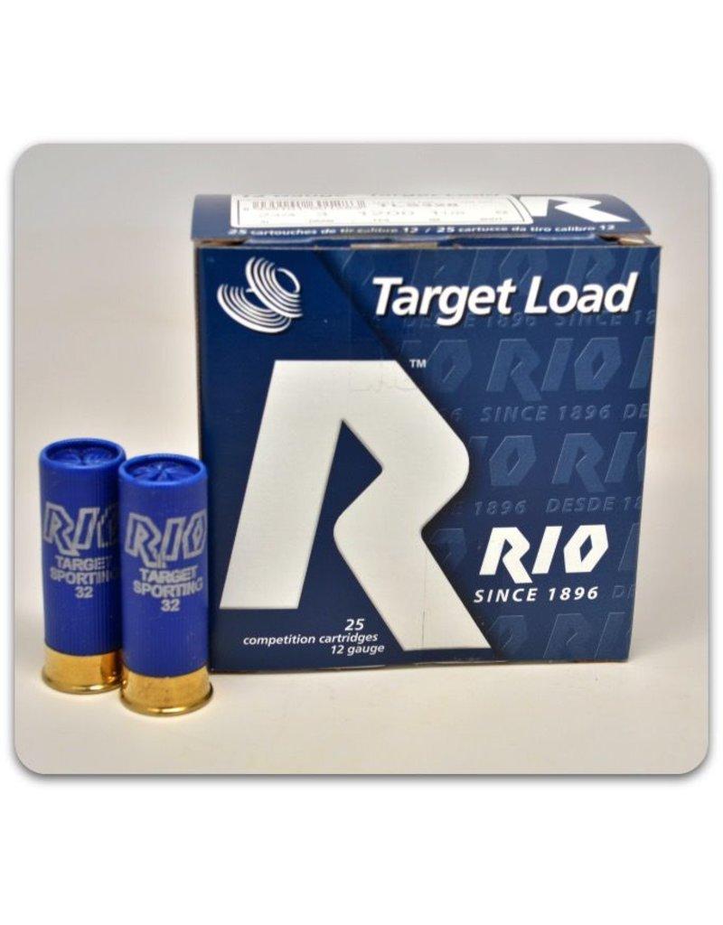 """RIO RIO TARGET LOAD 12 GA 2 3/4"""" 8"""" SHOT 1-1/8 OZ"""