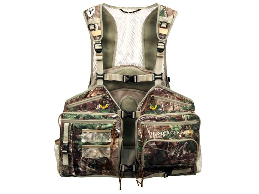 SCENTBLOCKER SCENTBLOCKER THUNDER CHICKEN TURKEY VEST XTG XL/2XL
