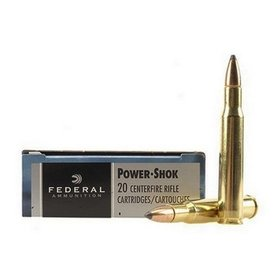 FEDERAL FEDERAL 30-06 125GR SP POWER SHOK 20 RDS
