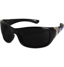 EDGE SAFETY GLASSES EDGE SAFETY GLASSES MAYON AURORA-BLACK LACE SMOKE LENS