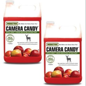 MOULTRIE MOULTRIE CAMERA CANDY APPLE SWIG LIQUID WHITETAIL ATTRACTANT 1 GALLON
