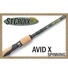 "ST. CROIX ST. CROIX AVID X 6'8"" MED SPINNING ROD"