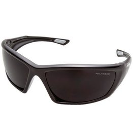 EDGE SAFETY GLASSES EDGE ROBSON BLACK/POLARIZED SMOKE LENS