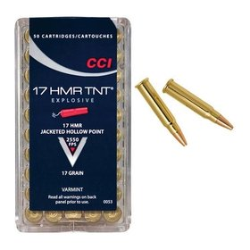 CCI CCI TNT 17HMR 17 GR RIMFIRE AMMO
