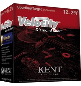 "KENT CARTRIDGE KENT CARTRIDGE VELOCITY DIAMOND SHOT 20GA 2 3/4"" 7.5 SHOT"