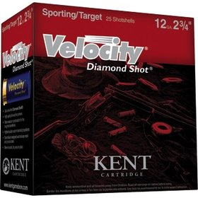 "KENT CARTRIDGE KENT CARTRIDGE VELOCITY DIAMOND SHOT 20GA 2 3/4"" 7.5 SHOT"