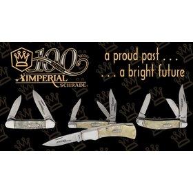 SCHRADE SCHRADE IMPERIAL 100TH ANNIVERSARY GIFT SET