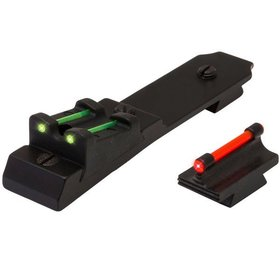 TRUGLO LEVER ACTION RIFLE SET MARLIN 336 FIBER-OPTIC FRONT/REAR SIGHT