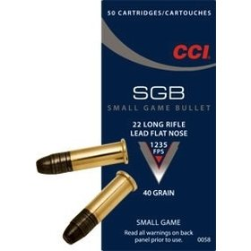 CCI CCI SGB 22 LR 40GR SMALL GAME