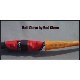 "VRX VRX THE ROD GLOVE BAIT GLOVE 9"" RED"