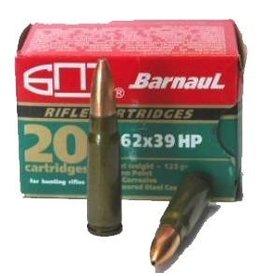 BARNAUL BARNAUL 7.62x39 123GR. HP GREEN