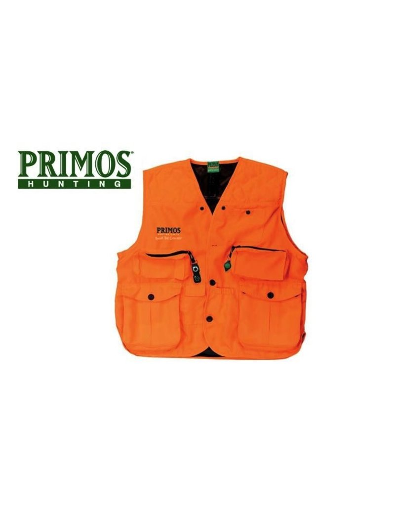 PRIMOS PRIMOS GUNHUNTER'S VEST BLAZE ORANGE LARGE