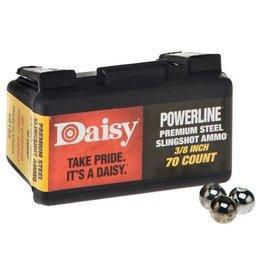 "DAISY POWERLINE SLINGSHOT AMMO 3/8"""