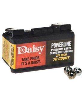 "DAISY POWERLINE SLINGSHOT AMMO 3/8"" 70 CT"