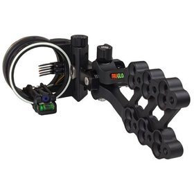 TRUGLO TRUGLO HYPER-STRIKE LONG RANGE BOW SIGHT 5 PIN 3x.019 2x.010