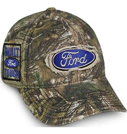 OUTDOOR CAP CAMO HAT FORD LOGO -ADJUSTABLE