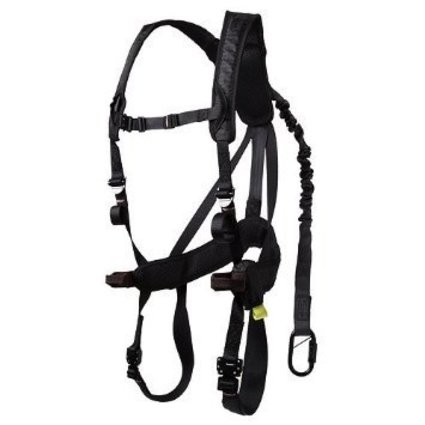 GORILLA GEAR GORILLA GEAR G-TAC WOMEN'S AIR SAFETY HARNESS BLACK