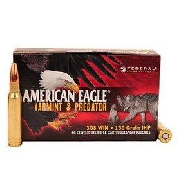 FEDERAL AMERICAN EAGLE  VARMINT & PREDATOR 308 WIN 130GR