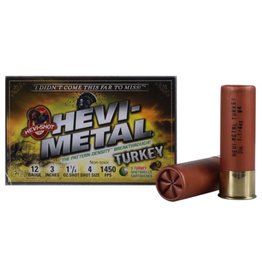 "HEVI-METAL HEVI-METAL TURKEY 12 GA 3"" 1 1/4OZ #4 SHOT"