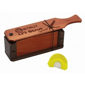 HUNTER SPECIALTIES HUNTER'S SPECIALTIES LI'L STRUT BOX CALL W/ DIAPHRAM