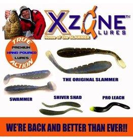 XZONE XZONE SLAMMER CRAW 306 GRN PMK/ BLK/ ORG CLAWS & BELLY