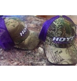HOYT ARCHERY HOYT ARCHERY PURPLE MESH MAX-1 CAP