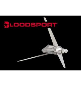 "BLOODSPORT BLOODSPORT WRAITH TURKEY LOPPER BROADHEAD 125 GR. 2 3/8"" CUT"