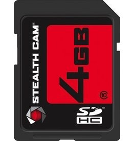 STEALTH CAM STEALTH CAM 4 GB SDHC MEMORY CARD