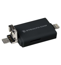 STEALTH CAM STEALTH CAM SD MICRO MEMORY CARD READER / UP TO 256GB