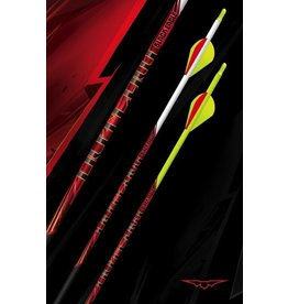 BLACK EAGLE BLACK EAGLE OUTLAW FLETCHED YELLOW CRESTED ARROWS 400 -.005