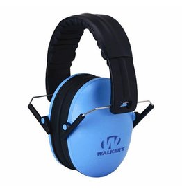 WALKER'S WALKER'S BABY & KIDS EARMUFFS HEARING PROTECTION BLUE