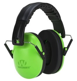 WALKER'S WALKER'S BABY & KIDS EARMUFFS HEARING PROTECTION LIME GREEN