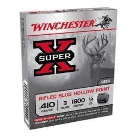 "WINCHESTER WINCHESTER 410 GA 3"" 1/4 OZ SLUG 5 SHELLS"