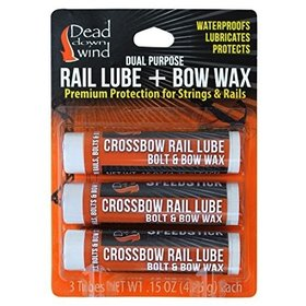 DEAD DOWN WIND RAIL LUBE & BOW WAX 3PK