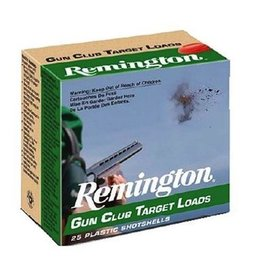 REMINGTON REMINGTON GUN CLUB TARGET LOADS 12 GA 2 3/4 #7 1/2 SHOT