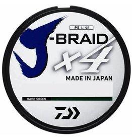 DAIWA DAIWA J-BRAID X4 <br /> 40LB 150M DARK GREEN