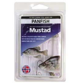 MUSTAD MUSTAD 50 STEEL HOOKS FOR PANFISH
