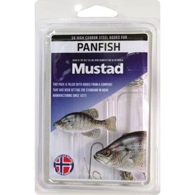 MUSTAD MUSTAD 50 STEEL HOOKS FOR PANFISH