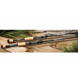 """ST. CROIX ST. CROIX BASS X SPINNING ROD 6' 8"""" MED"""