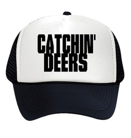 CATCHIN' DEERS CATCHIN' DEERS B/W FOAM TRUCKER HAT
