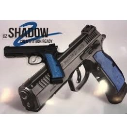 "CZ CZ SHADOW 2 BLUE/BLACK 9MM LUGER 4.7"" PISTOL"