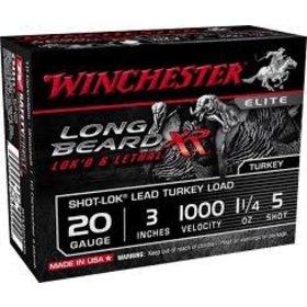 """WINCHESTER WINCHESTER LONG BEARD XR 20 GA 3"""" 1 1/4OZ 10 SHELLS"""