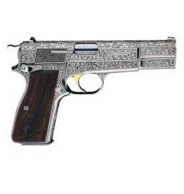 BROWNING BROWNING HIGH POWER  9MM RENAISSANCE SILVER
