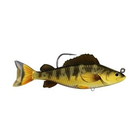"KOPPERS KOPPERS LIVE TARGET SWIMBAIT 4 1/2"" YELLOW PERCH GOLD OLIVE"