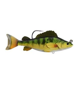 "KOPPERS KOPPERS LIVE TARGET SWIMBAIT 4 1/2"" YELLOW PERCH YELLOW/ GREEN"