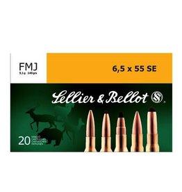 SELLIER & BELLOT SELLIER & BELLOT C.6.5X55 SWD 140 GR FMJ
