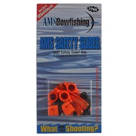 "AMS BOWFISHING AMS BOWFISHING SAFETY SLIDES SYSTEM 5/16"" 5PK"