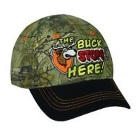 OUTDOOR CAP THE BUCK STOPS HERE TODDLER HAT -ADJUSTABLE