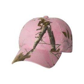 OUTDOOR CAP PINK CAMO HAT -LADIES